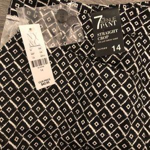 NWT NY&CO crop 7th Ave pants